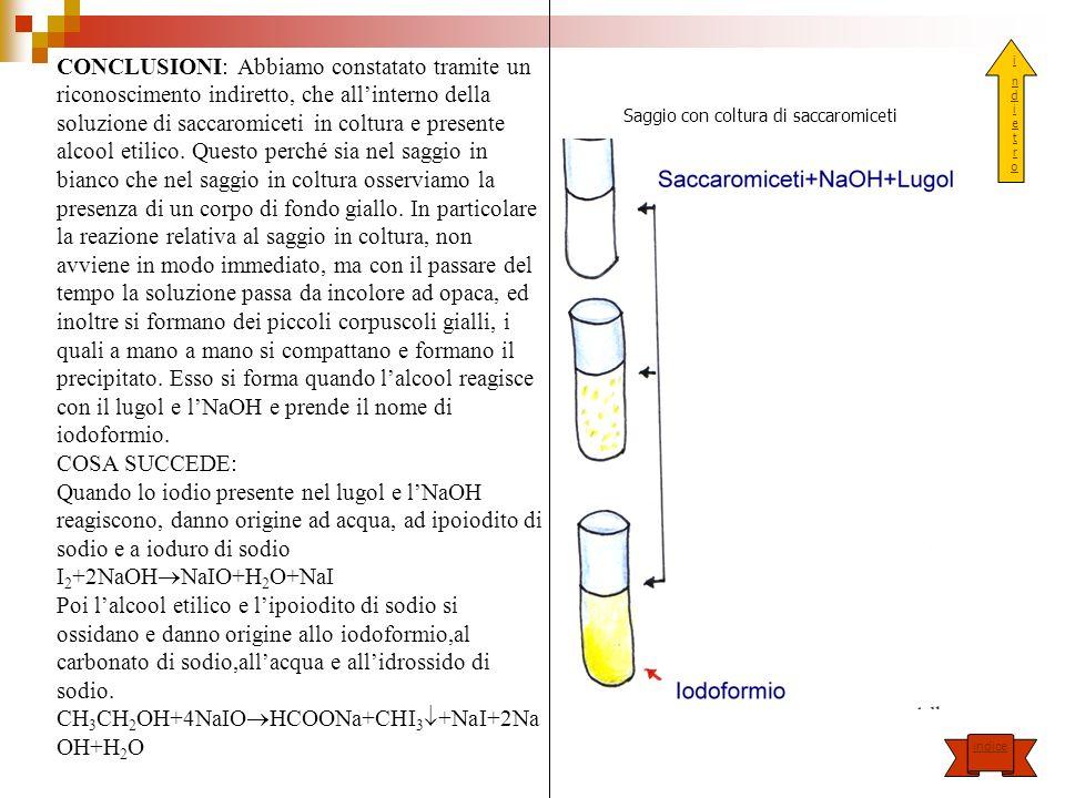 CH3CH2OH+4NaIOHCOONa+CHI3+NaI+2NaOH+H2O