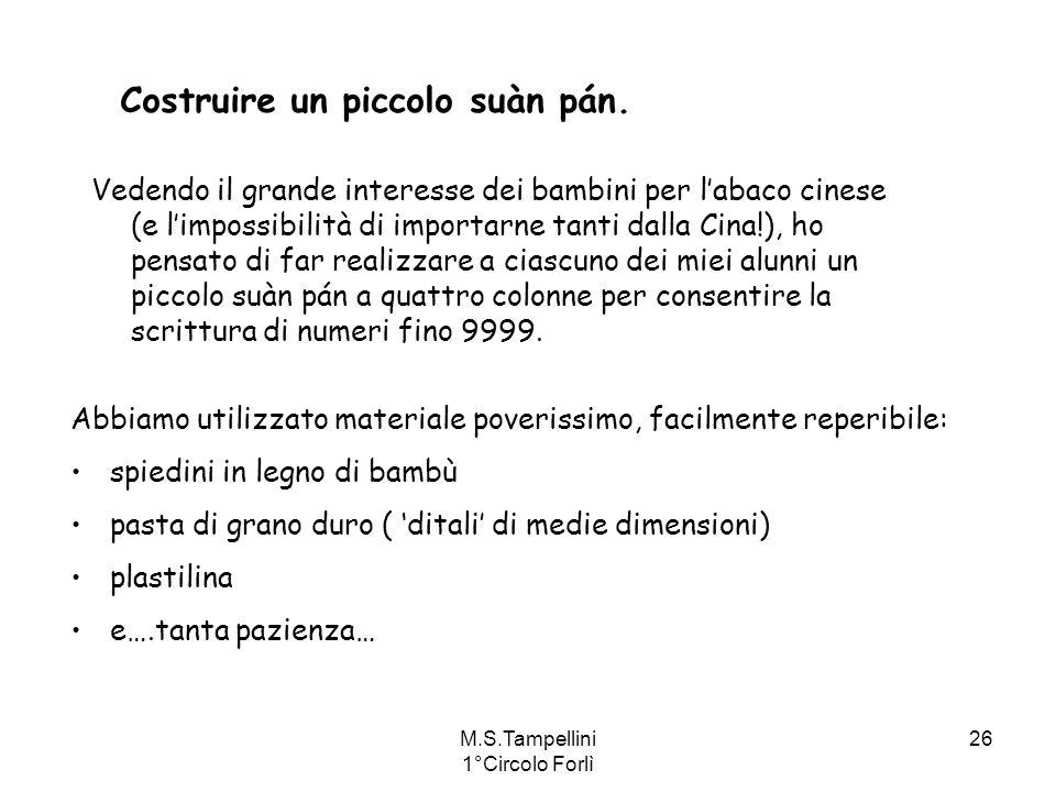 M.S.Tampellini 1°Circolo Forlì