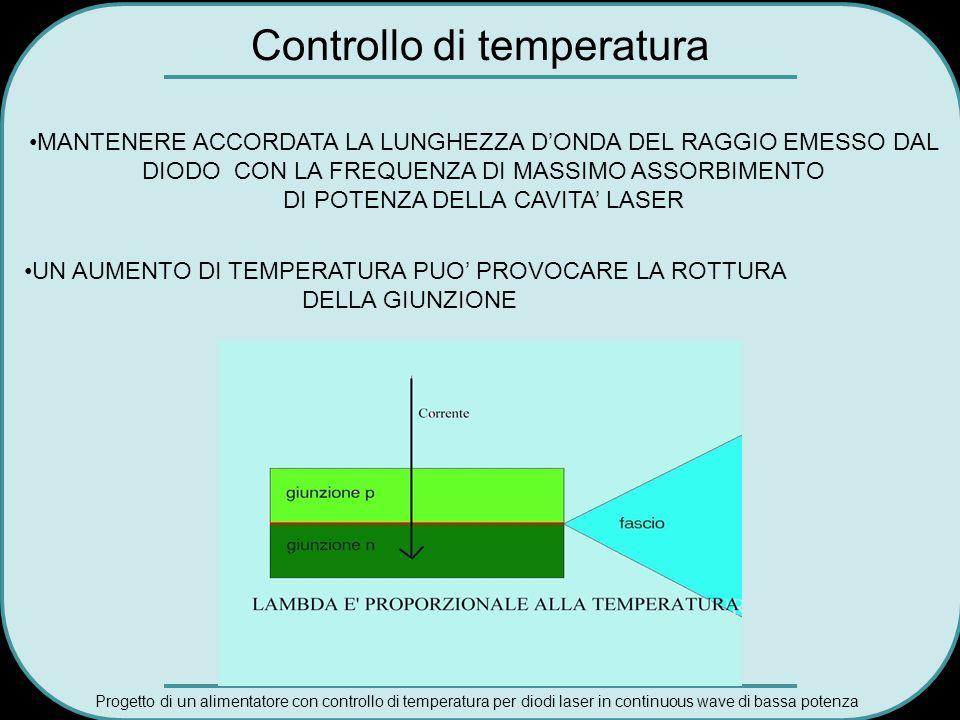 Controllo di temperatura