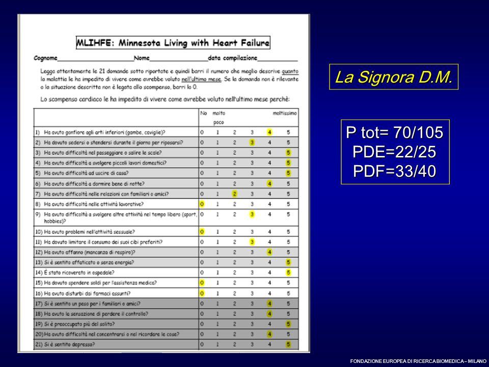 La Signora D.M. P tot= 70/105 PDE=22/25 PDF=33/40