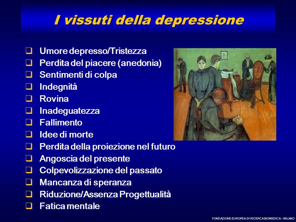I vissuti della depressione