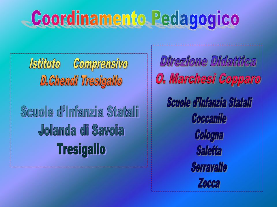 Coordinamento Pedagogico