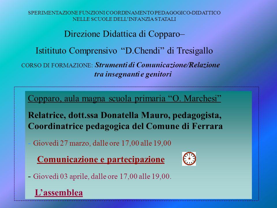 Direzione Didattica di Copparo–