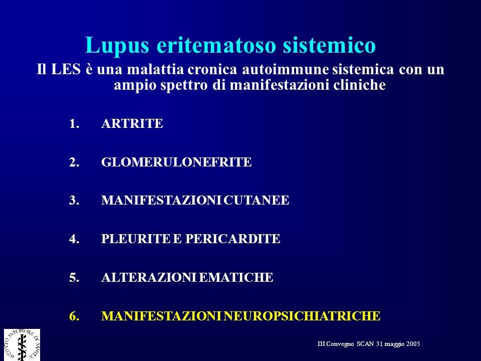 Lupus eritematoso sistemico