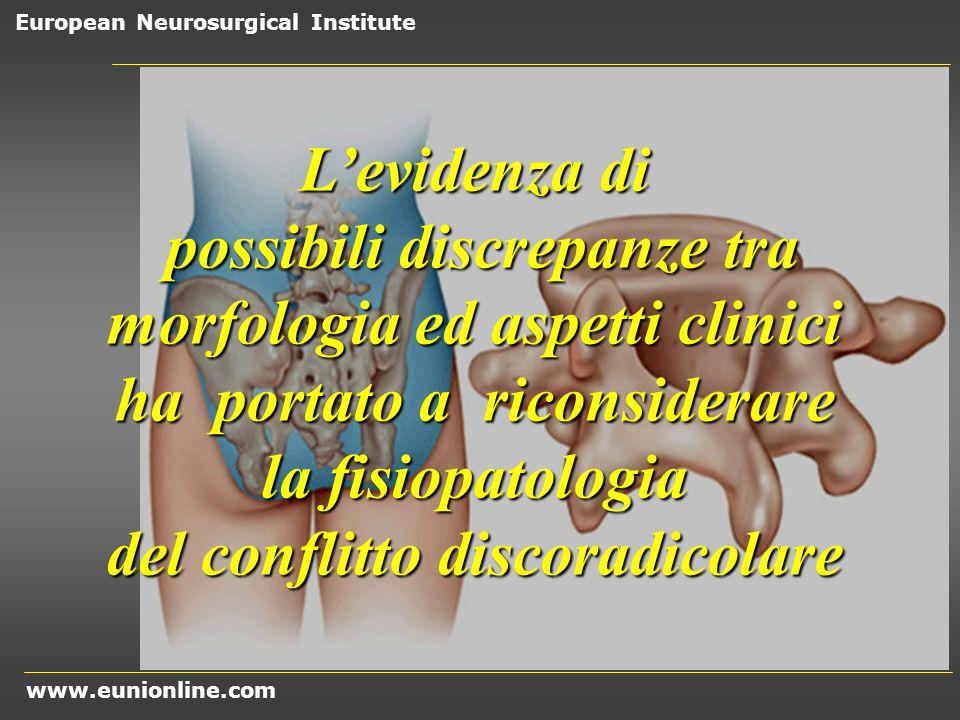 possibili discrepanze tra morfologia ed aspetti clinici