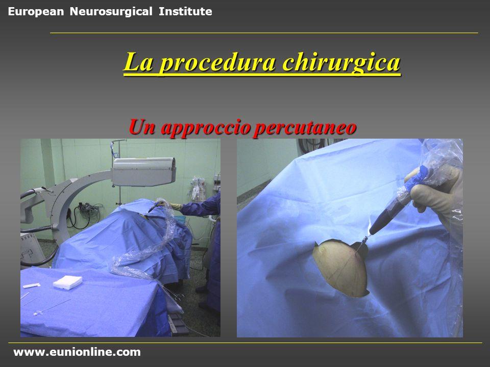 La procedura chirurgica