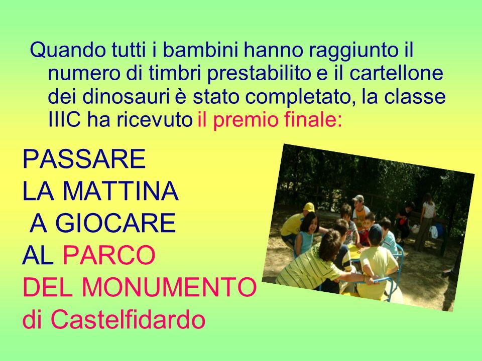 PASSARE LA MATTINA A GIOCARE AL PARCO DEL MONUMENTO di Castelfidardo