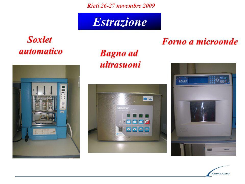 Estrazione Soxlet Forno a microonde automatico Bagno ad ultrasuoni