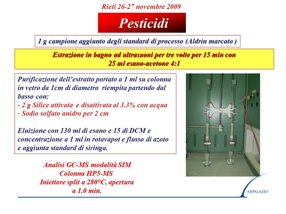 Pesticidi Rieti 26-27 novembre 2009
