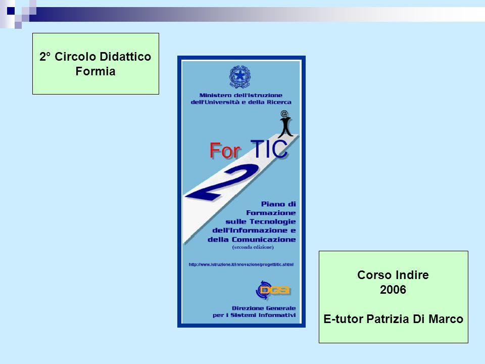 E-tutor Patrizia Di Marco