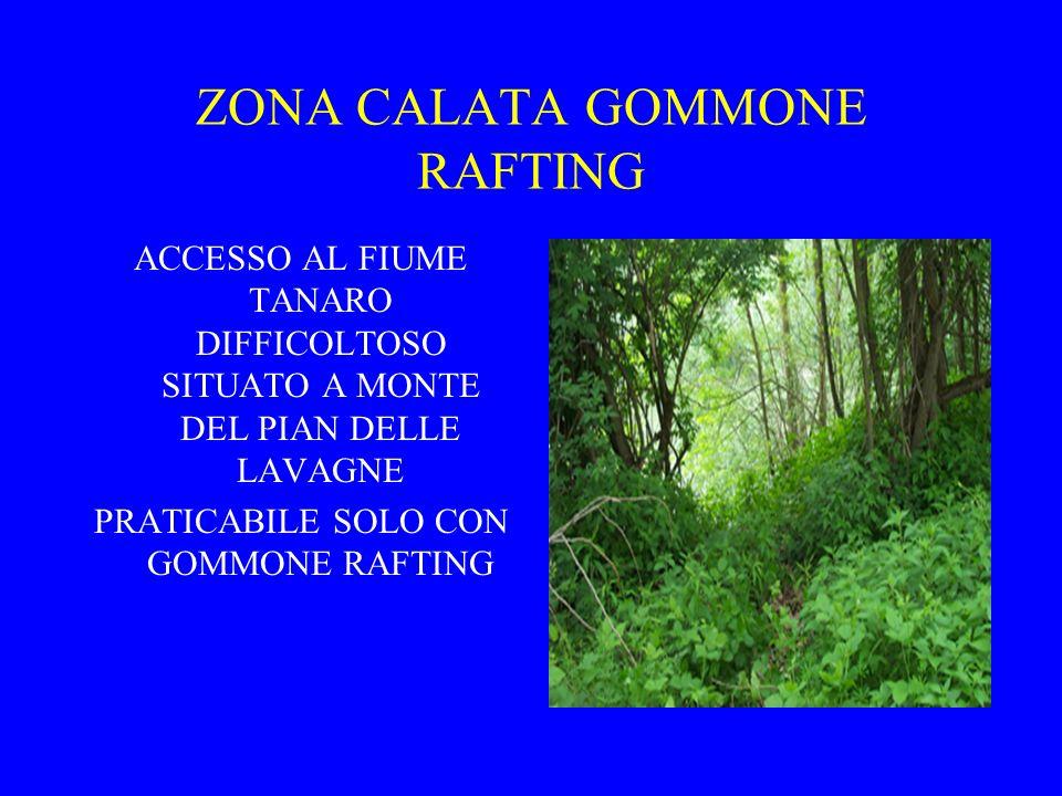 ZONA CALATA GOMMONE RAFTING