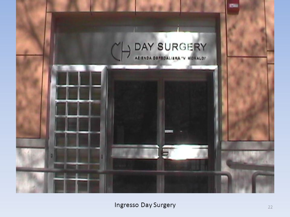 Ingresso Day Surgery
