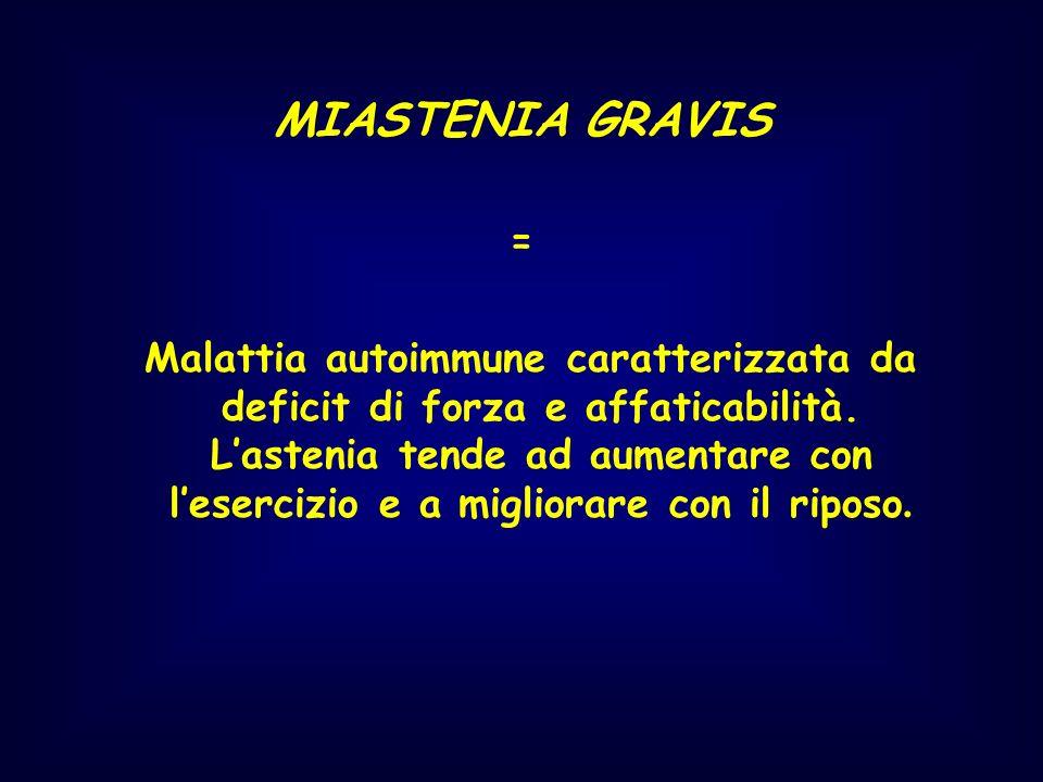 MIASTENIA GRAVIS =
