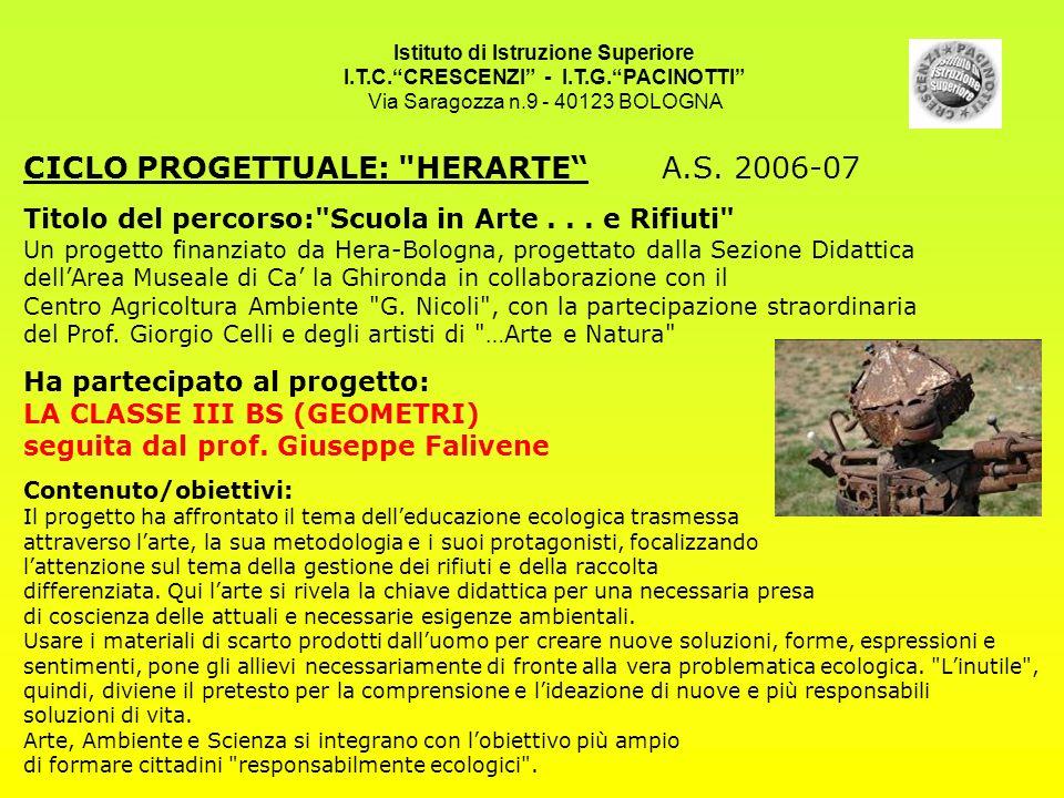 I.T.C. CRESCENZI - I.T.G. PACINOTTI
