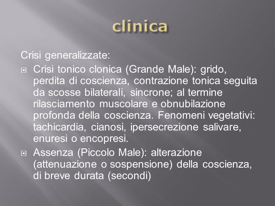 clinica Crisi generalizzate: