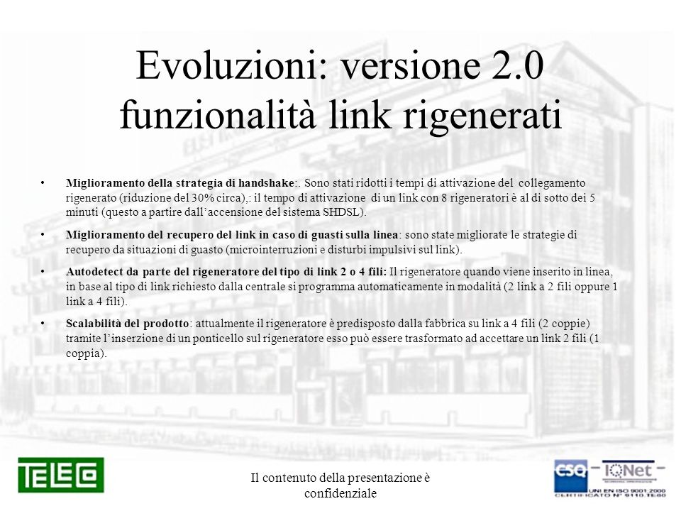 Evoluzioni: versione 2.0 funzionalità link rigenerati