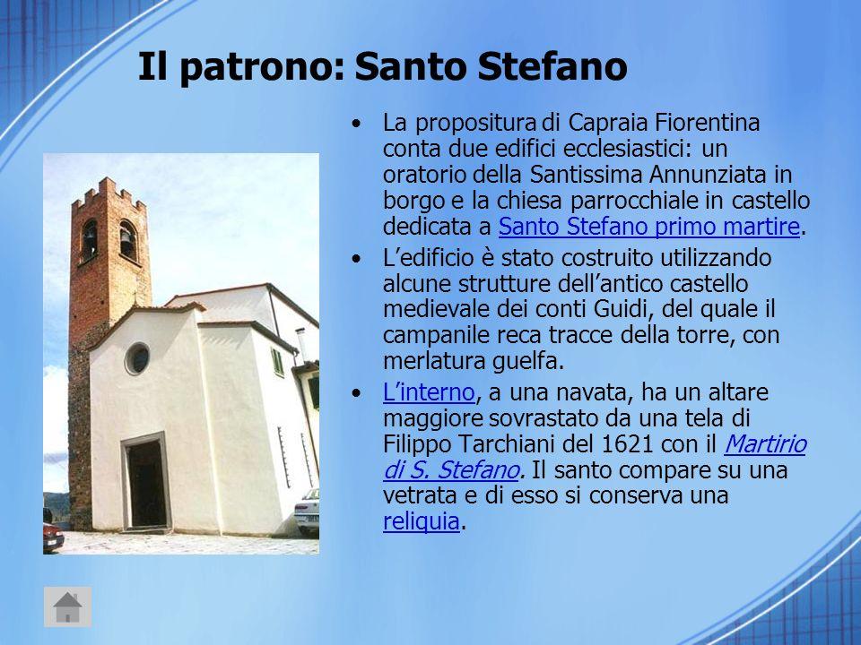 Il patrono: Santo Stefano