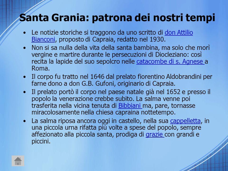 Santa Grania: patrona dei nostri tempi