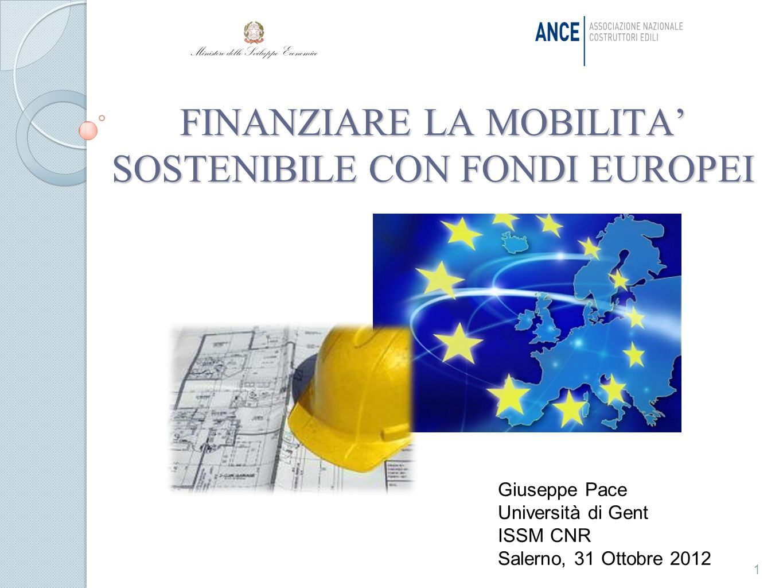 FINANZIARE LA MOBILITA' SOSTENIBILE CON FONDI EUROPEI