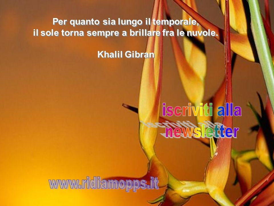 iscriviti alla newsletter www.ridiamopps.it