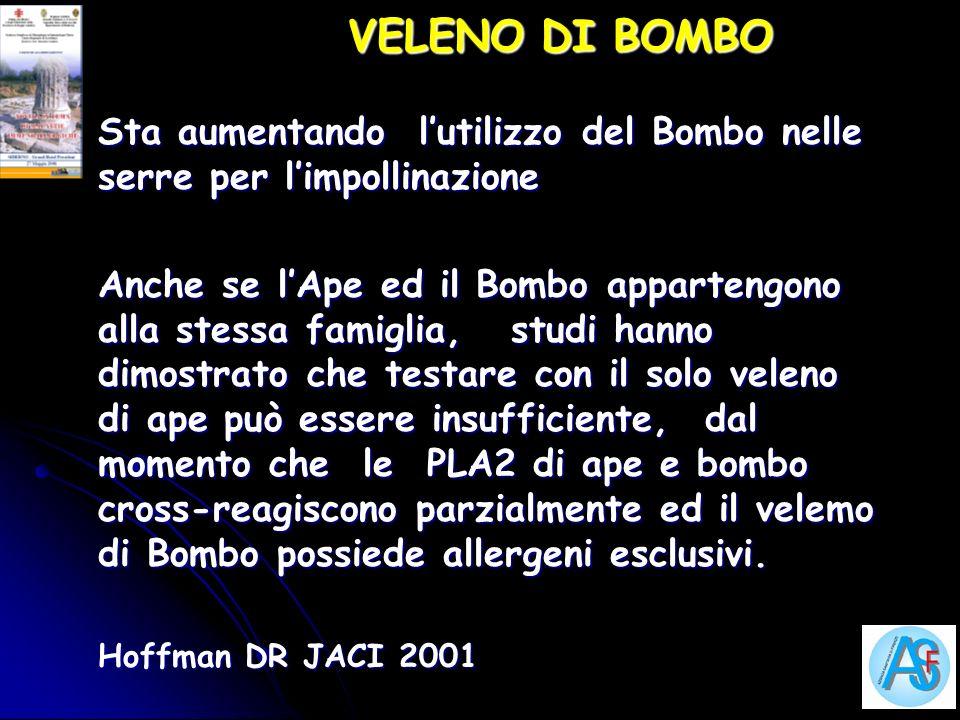 VELENO DI BOMBO Sta aumentando l'utilizzo del Bombo nelle serre per l'impollinazione.