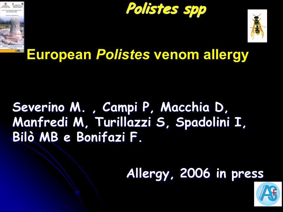 European Polistes venom allergy