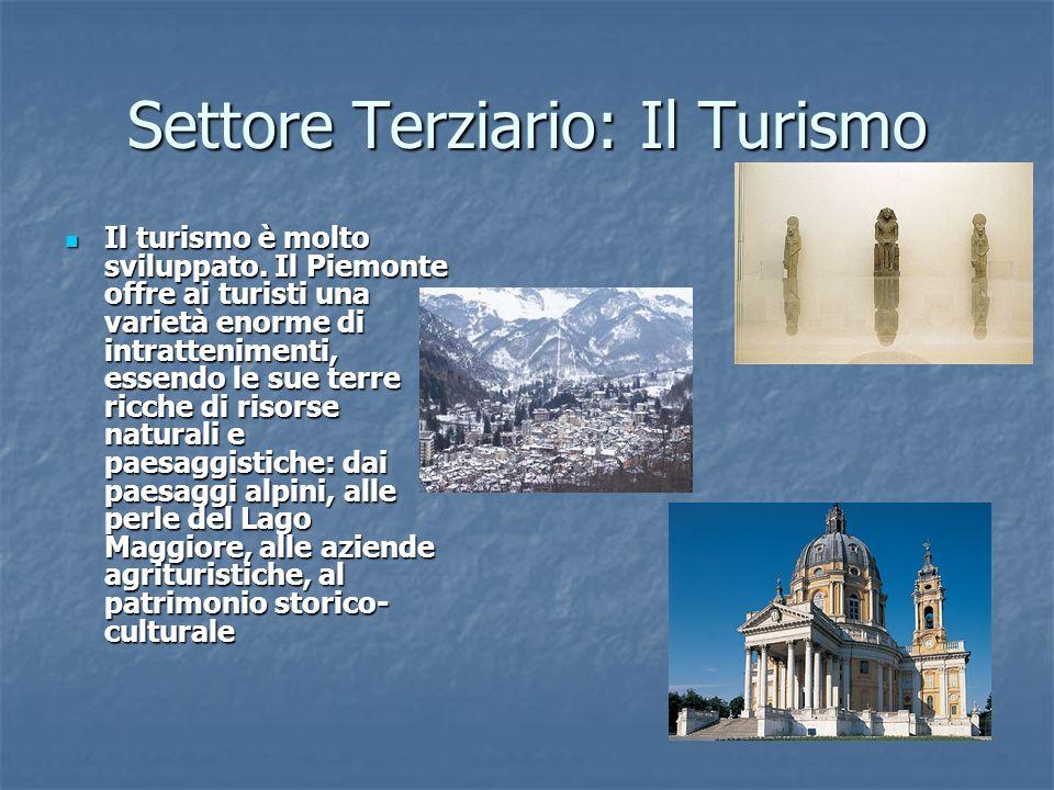 Settore Terziario: Il Turismo