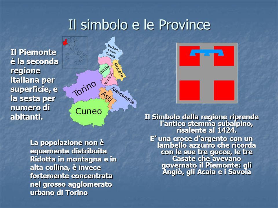 Il simbolo e le Province