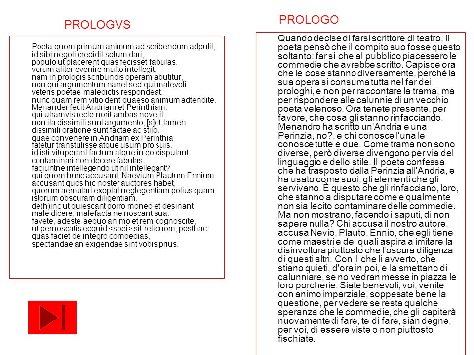 PROLOGO PROLOGVS.