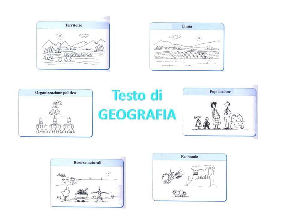 Testo di GEOGRAFIA