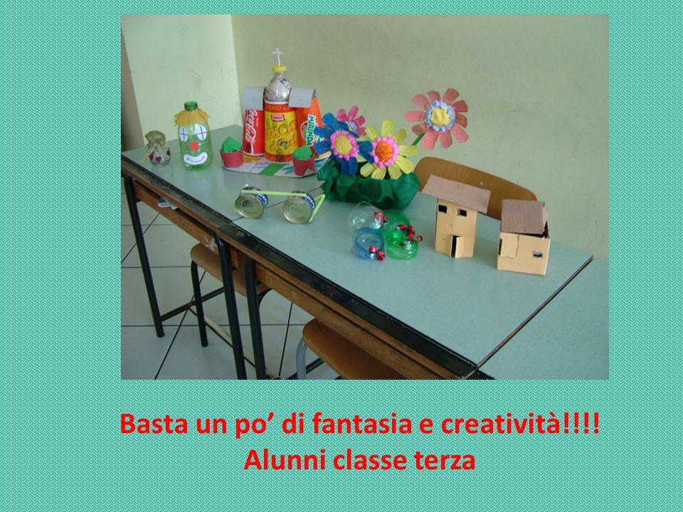 Basta un po' di fantasia e creatività!!!!