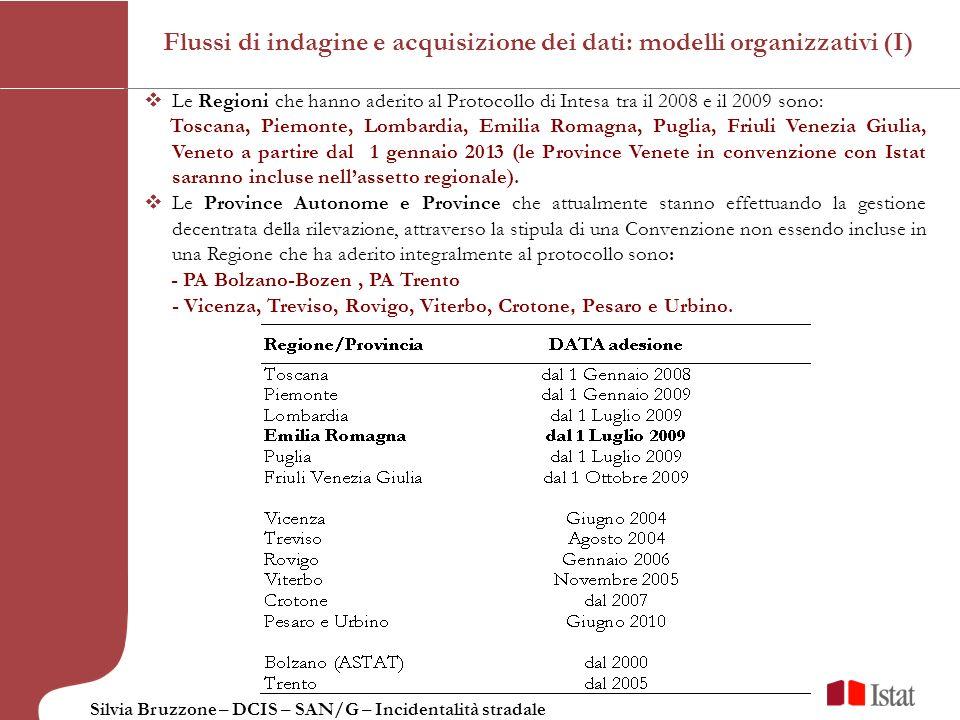 Flussi di indagine e acquisizione dei dati: modelli organizzativi (I)