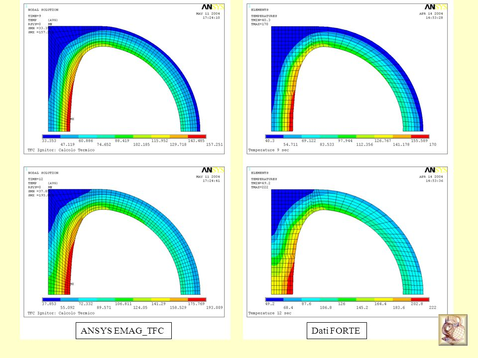 ANSYS EMAG_TFC Dati FORTE