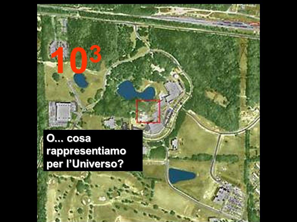 103 O... cosa rappresentiamo per l'Universo