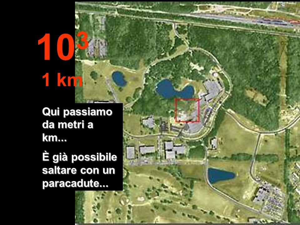103 1 km Qui passiamo da metri a km...
