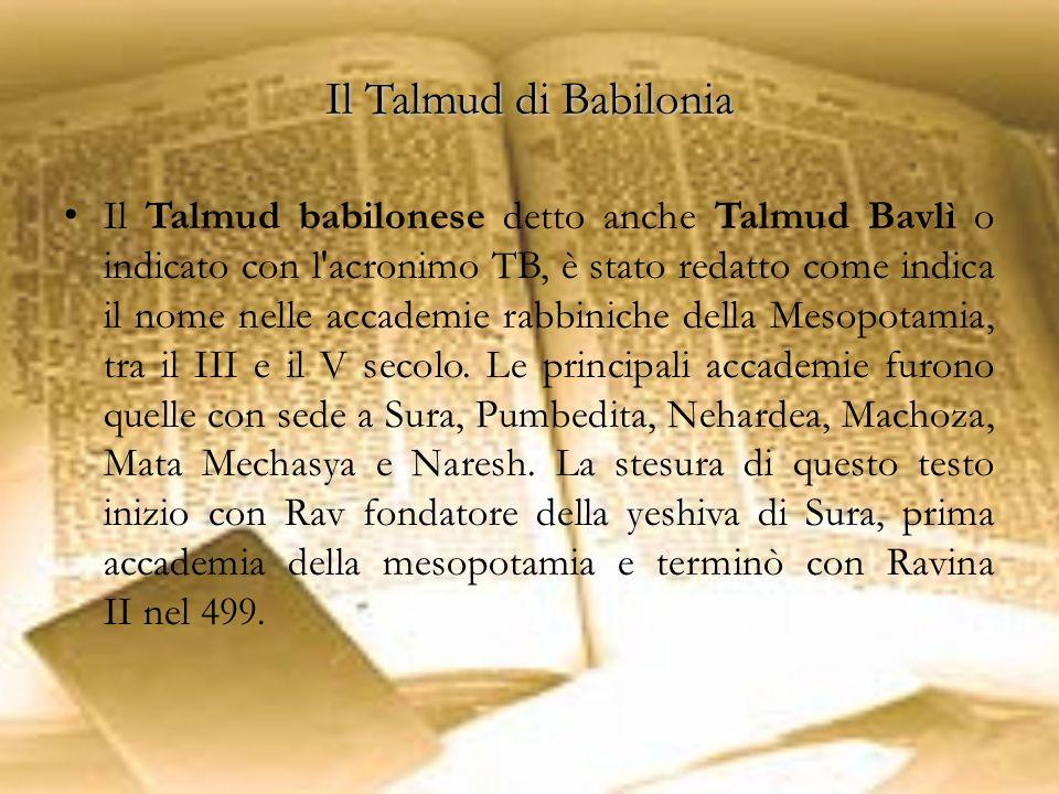 Il Talmud di Babilonia