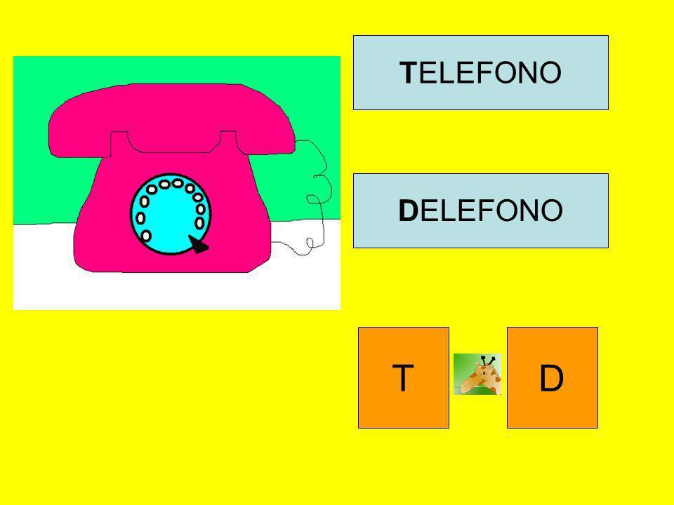 TELEFONO DELEFONO T D