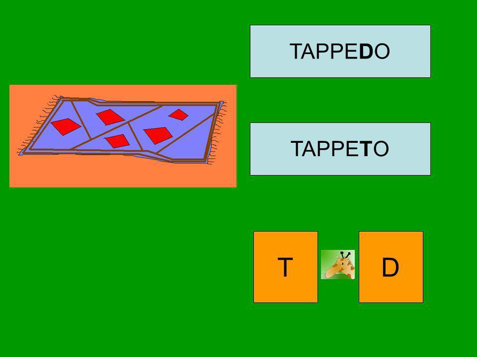 TAPPEDO TAPPETO T D