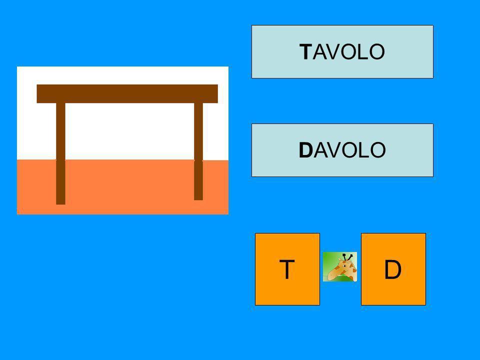 TAVOLO DAVOLO T D