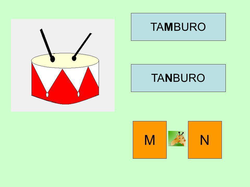 TAMBURO TANBURO M N