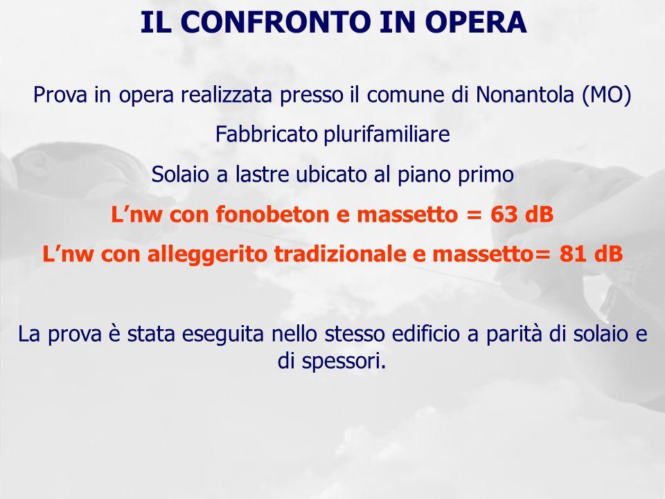 S c trade produce e commercializza sistemi innovativi per - Massetto tradizionale ...