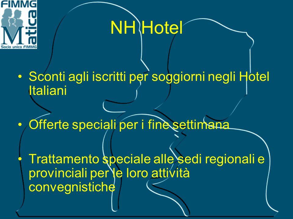 NH Hotel Sconti agli iscritti per soggiorni negli Hotel Italiani