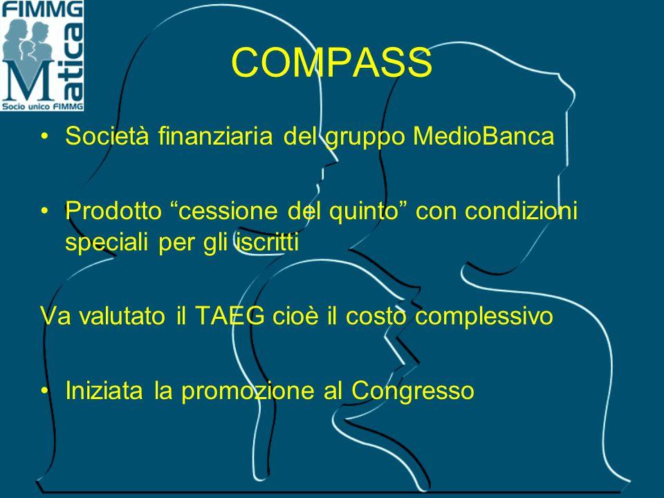 COMPASS Società finanziaria del gruppo MedioBanca