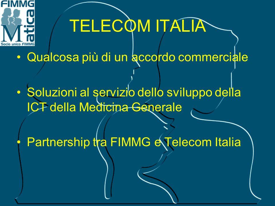 TELECOM ITALIA Qualcosa più di un accordo commerciale