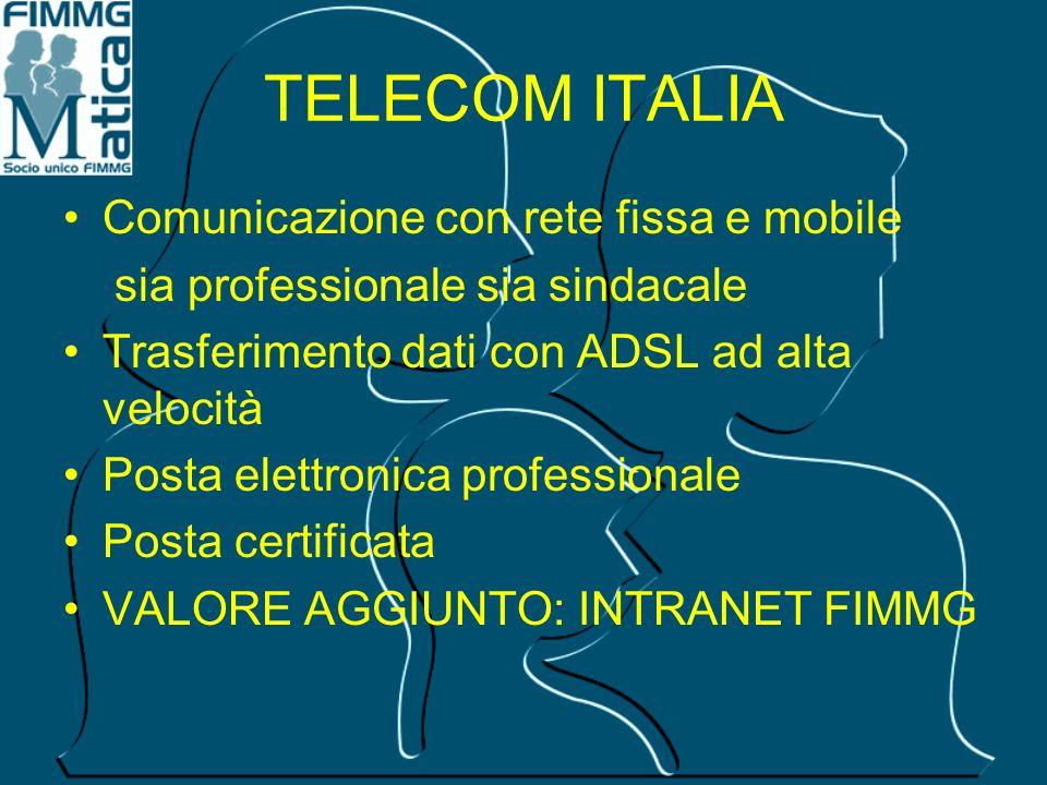 TELECOM ITALIA Comunicazione con rete fissa e mobile