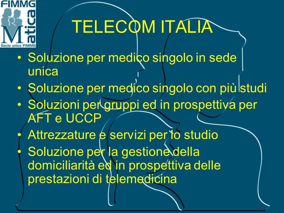 TELECOM ITALIA Soluzione per medico singolo in sede unica
