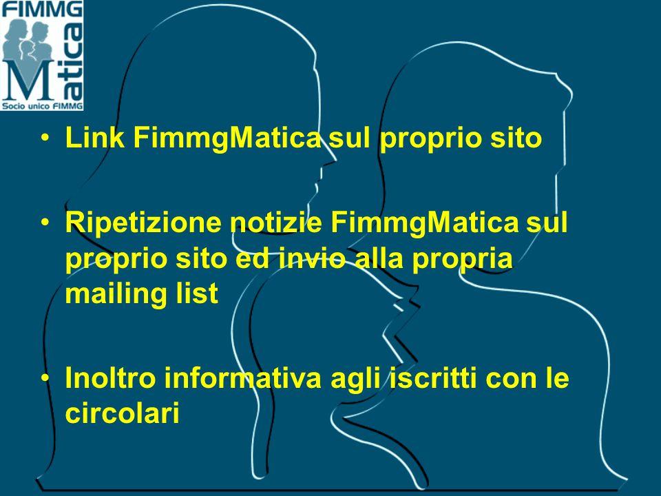Link FimmgMatica sul proprio sito