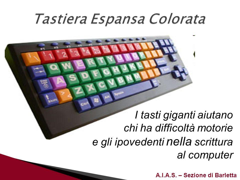 Tastiera Espansa Colorata