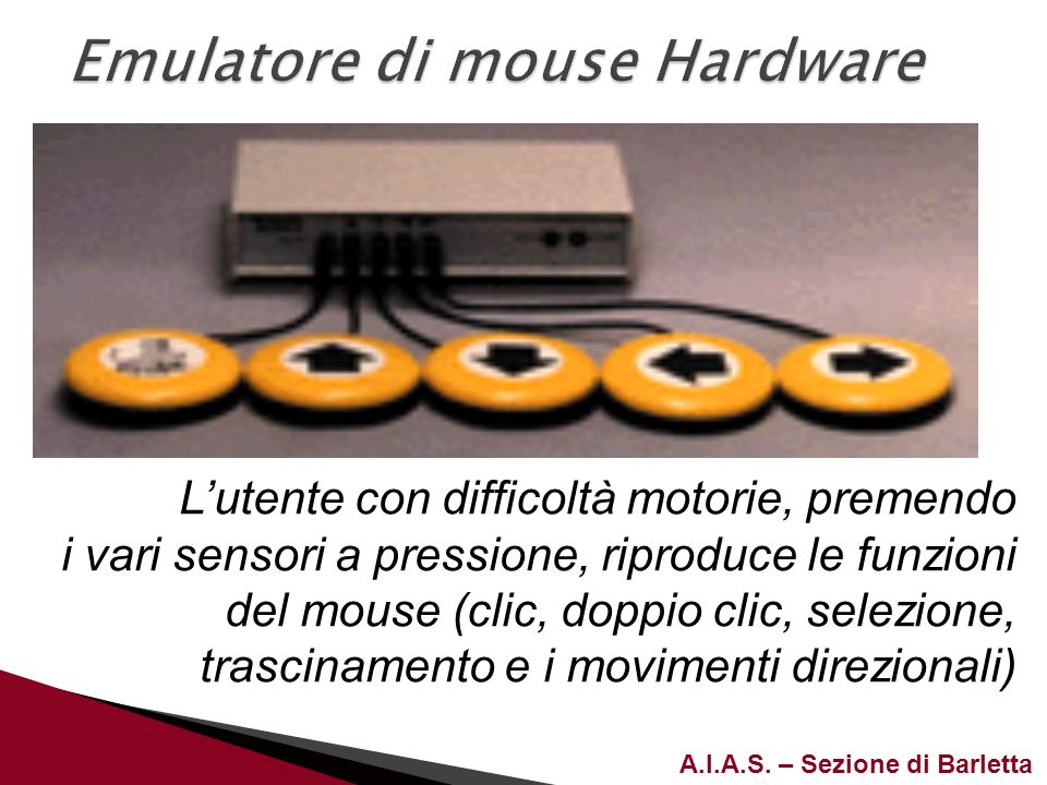 Emulatore di mouse Hardware