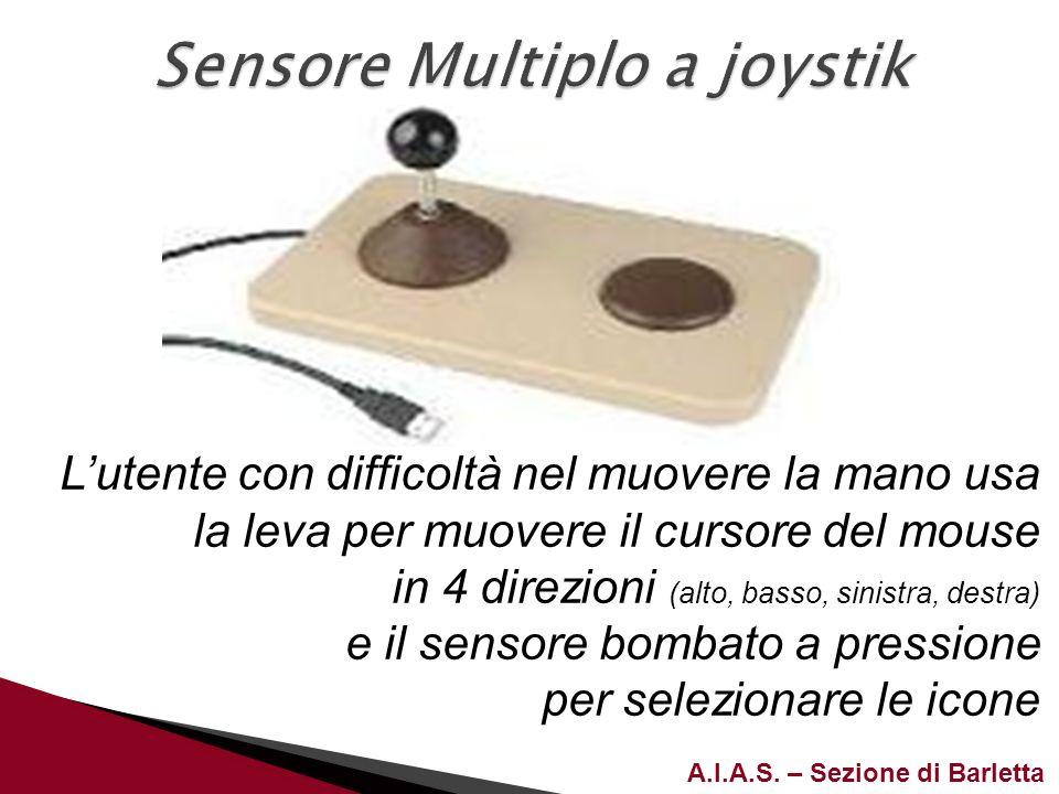 Sensore Multiplo a joystik